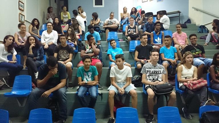 élèves dans amphi